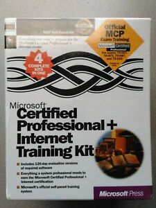 New Microsoft Certified Professional + Server OS IIS - Internet Training & OS CD