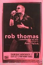 "Rob Thomas 2005 ""Something To Be Tour"" San Diego Concert Poster - Matchbox 20"