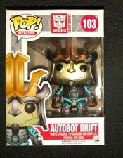 FUNKO Tranformers Autobot Drift POP VINYL Figure (Free S/H in USA) NEW
