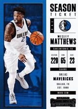 Wesley Mathews 2017-18 PANINI CONTENDERS Basketball cartes à collectionner, #75