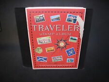 1974 Harris Traveler Album With Some Stamps