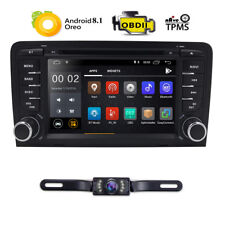 """For Audi A3 S3 RS3 Android 8.1 7"""" Head Unit Car Stereo DVD GPS Navigation+Camera"""