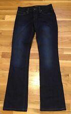 Joe's Slim Fit Mini Boot Jeans! Victoria Dark Wash Size 25