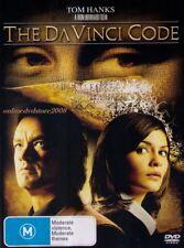 The DA VINCI CODE (Tom HANKS Audrey TAUTOU Jean RENO Paul BETTANY) DVD Region 4