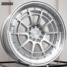 AODHAN AH04 17x9 5x100 / 5x114.3 +35 Silver (PAIR) wheels