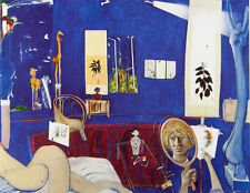 BRETT WHITELEY - SELF-PORTRAIT IN THE STUDIO