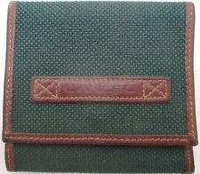 -AUTHENTIQUE  porte-monnaie LANCEL    cuir et toile TBEG vintage