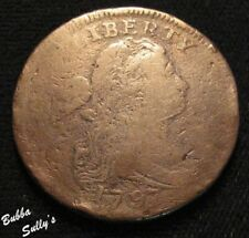 1797 Draped Bust Large Cent <> S-120A R4 Plain Edge <> Ag to G Details