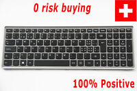For Lenovo IdeaPad U510 Z710 T6A1-Sw Laptop Keyboard Swiss German Tastatur CH SW