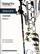 MOSAICS FOR CLARINET Book 2 Grades 6-8*