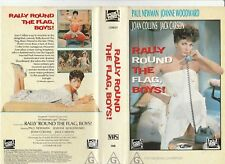 RALLY 'ROUND THE FLAG, BOYS! PAUL NEWMAN JOAN COLLINS WOODWARD RARE PALVHS VIDEO