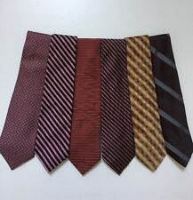 Lot of 6 Men's Silk Neckties - 4 Brooks Brothers/1 Polo/1 Christian Dior