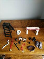 Wwe wrestling figures accessories jakks/mattel Bundle.