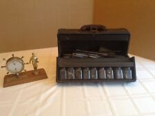 Typewriter Repairmans Tool Kit (Rare) With Internal Company Award / Trophy