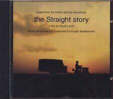 ANGELO BADALAMENTI - The straight story - DAVID LYNCH CD OST 1999 NEAR MINT