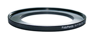 FotoPanda Aluminium 58mm to 77mm 58 77 Step Up Filter Ring Stepping Adapter