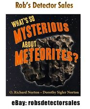 What's so Mysterious about Meteorites Book. Rocks from Space - Meteorites
