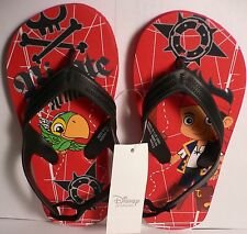 JaKe~FLiP FLoPS~HeeL Strap~and the Never Land Pirates~SkuLLy~NWT~Disney Store