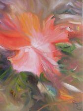 SALE!  original oil painting - Coral Floral - MAKE AN OFFER fine art