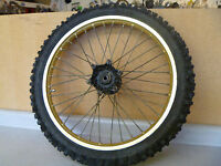 Yamaha YZ YZ250 Used Original Front Wheel 1985 #YW78