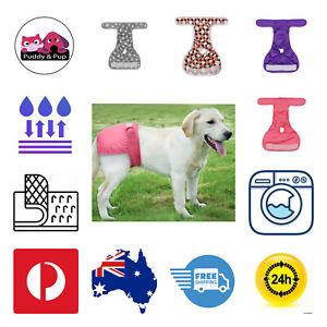 Female Dog Diapers Nappy Puppy Training Pants Washable XS Small Medium Large