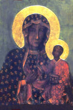 Black Madonna of Czestochowa 16x20 Poland Our Lady Virgin Poster Print Picture