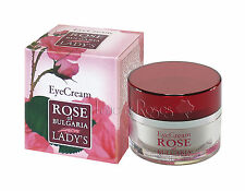 ROSE OF BULGARIA NATURAL ANTI-WRINKLE EYE CREAM WITH BULGARIAN ROSE WATER