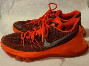 Nike KD Kevin Durant 8 (GS) Bright Crimson White Black 768867 610 Sz 6y