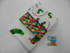 Very Hungry Caterpillar Burp Cloths 3 Pack Toweling Backed GREAT GIFT IDEA!!