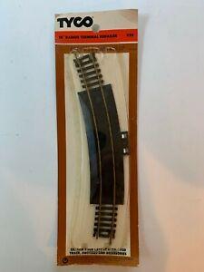 """Vintage TYCO HO Scale 18"""" Radius Terminal Rerailer Brass Track #939 Original Box"""