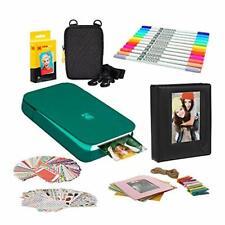KODAK Smile Instant Digital Printer (Green) Photo Frames Bundle