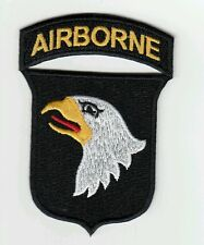 Patch para 101st AIRBORNE US WW2 D-Day Normandie 1944  - REPRODUCTION