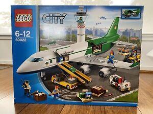 LEGO City Cargo Terminal 60022 Plane NEW & SEALED