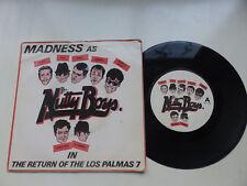 "Madness ~ The Return Of The Los Palmas 7 ~ 7"" vinyl ~ 1981 ~ Stiff Records ~ Ska"