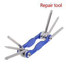 6 In 1 Bike Cycling Bicycle Multi Mini Repair Tool Kit Pocket Tool~GN