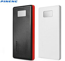 PINENG 10000mAh Dual USB Power Bank Charger Battery Pack 2 Charing Ports PN 963