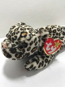 Ty Beanie Baby FRECKLES THE LEOPARD CAT 6-3-1996 Style 4066 PVC NO STAR. ERRORS