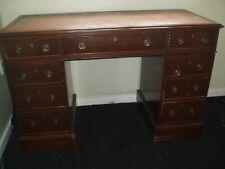 More details for antique kneehole desk