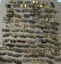 Vintage Brass Plated Steampunk Crafts Hardware Luggage Trunk Feet Lot of 100