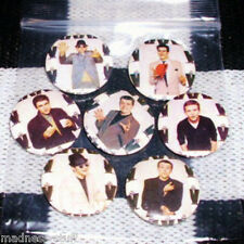 MADNESS - SET OF 7x BADGES FROM 1979 PHOTO SHOOT - SUGGS SKA STIFF 2 TONE