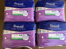 "Prevail Dri Fit Underwear For Women XL 48-64"" Lavender Odor Protection 64ct"