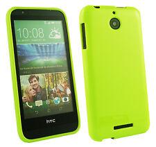 Ultra Fino Piel Funda de GEL PARA HTC Desire M9 626 820 620 Muchos Más