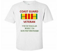 USCGC DALLAS WHEC-716*SOUTH VIETNAM*VIETNAM VETERAN RIBBON1959-1975 SHIRT