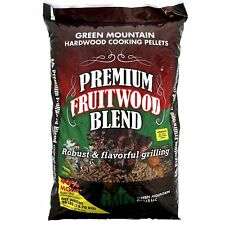 Green Mountain Grills Premium Fruitwood Pure Hardwood Grilling Cooking Pellets