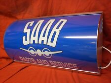 SAAB,900,96,turbo,retro,garage,workshop,mancave,light up,sign,vintage,display
