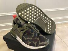 Adidas Ultraboost NMD XR1 Duck Camo Olive Cargo BA7232 - MEN'S Size 10