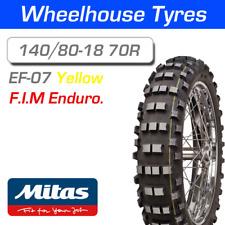 Mitas EF-07 Super 140/80-18 70R Yellow Stripe F.I.M Enduro