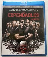 The Expendables (Blu-ray/DVD, 2010, 2-Disc Set, Canadian)