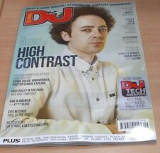 DJ Monthly Mag SEPTEMBER 2016 High Contrast; Drum & Bass, Sigma + Download