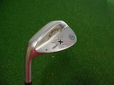 USED LH CALLAWAY X FORGED TOUR 56.13 SAND WEDGE SW X-FORGED WEDGE FLEX STEEL